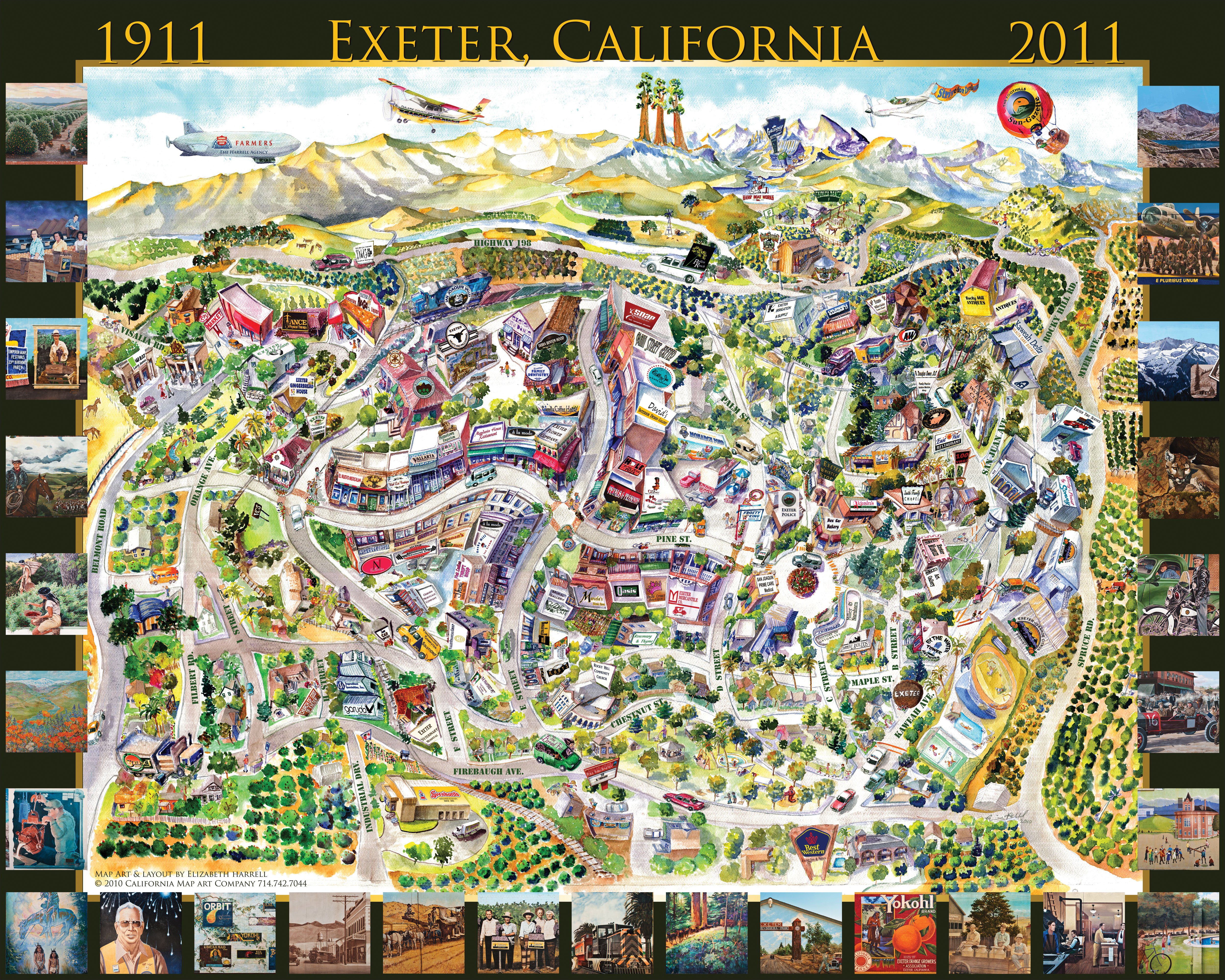 CMAC Exeter Map2010